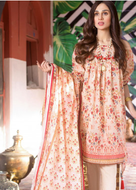 Regalia Textiles Printed Lawn Unstitched 3 Piece Suit RG20DP 10 - Spring / Summer Collection