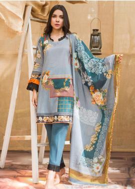 Regalia Textiles Printed Lawn Unstitched 3 Piece Suit RG20DP 12 - Spring / Summer Collection