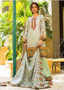 Regalia Textiles Printed Khaddar Unstitched 3 Piece Suit RG19KD 19 - Luxury Collection