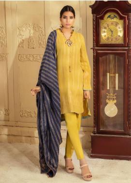 Regalia Textiles Printed Jacquard Unstitched 3 Piece Suit RG20J 6 - Formal Collection