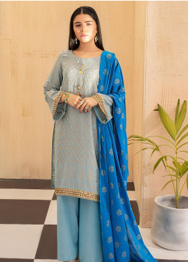 Regalia Textiles Embroidered Jacquard Unstitched 3 Piece Suit RGJ20  1 - Spring / Summer Collection