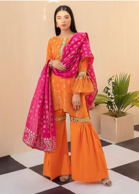 Regalia Textiles Embroidered Jacquard Unstitched 3 Piece Suit RGJ20  2 - Spring / Summer Collection
