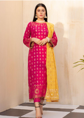 Regalia Textiles Embroidered Jacquard Unstitched 3 Piece Suit RGJ20  3 - Spring / Summer Collection