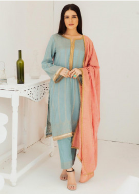 Regalia Textiles Embroidered Jacquard Unstitched 3 Piece Suit RGJ20-6 1 - Spring / Summer Collection