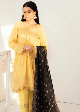 Regalia Textiles Embroidered Jacquard Unstitched 3 Piece Suit RGJ20-6 3 - Spring / Summer Collection