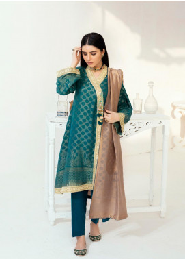 Regalia Textiles Embroidered Jacquard Unstitched 3 Piece Suit RGJ20-6 4 - Spring / Summer Collection