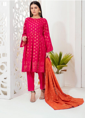 Regalia Textiles Embroidered Jacquard Unstitched 3 Piece Suit RGJ20-6 5 - Spring / Summer Collection