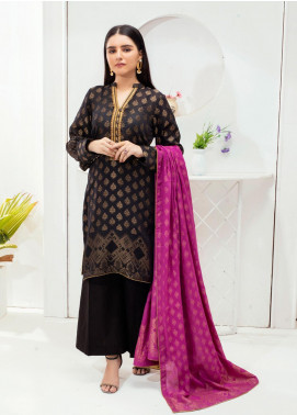 Regalia Textiles Embroidered Jacquard Unstitched 3 Piece Suit RGJ20-6 6 - Spring / Summer Collection