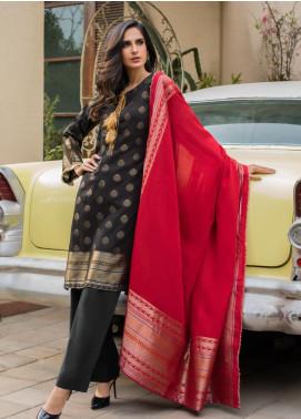Regalia Textiles Printed Jacquard Unstitched 3 Piece Suit RG19PJ 4 - Luxury Collection
