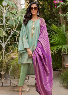 Regalia Textiles Printed Jacquard Unstitched 3 Piece Suit RG19PJ 5 - Luxury Collection