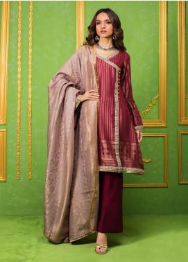Regalia Printed Jacquard Unstitched 3 Piece Suit RG20-J3 3 - Luxury Collection