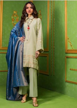 Regalia Printed Jacquard Unstitched 3 Piece Suit RG20-J3 4 - Luxury Collection