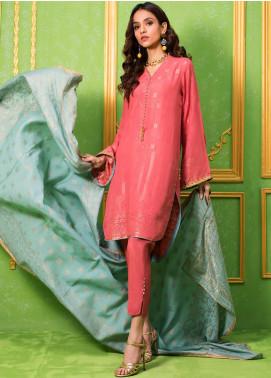 Regalia Printed Jacquard Unstitched 3 Piece Suit RG20-J3 6 - Luxury Collection