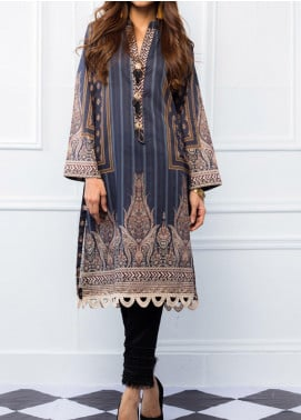 Regalia Textiles Printed Lawn Unstitched Kurties RG20T 4 D-05 - Spring / Summer Collection