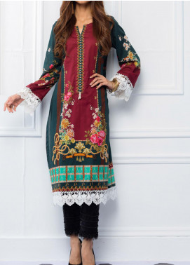 Regalia Textiles Printed Lawn Unstitched Kurties RG20T 4 D-06 - Spring / Summer Collection