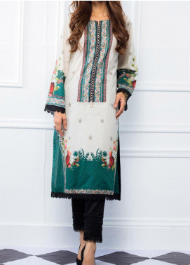 Regalia Textiles Printed Lawn Unstitched Kurties RG20T 4 D-07 - Spring / Summer Collection