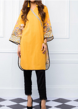 Regalia Textiles Printed Lawn Unstitched Kurties RG20T 4 D-09 - Spring / Summer Collection