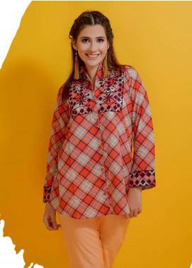 Rehaab by Jaffrani Textiles Embroidered Lawn Stitched Kurtis RHB19P FEC-155 WINTERIA