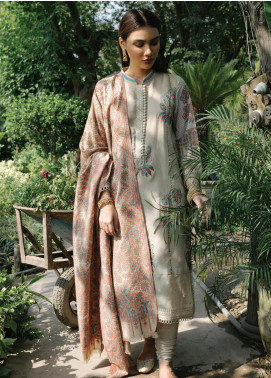 Rehab By Qalamkar Embroidered Jacquard Unstitched 3 Piece Suit QLM19R 08 PAISLEY - Winter Collection