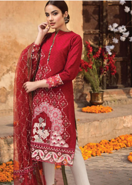 Resham Ghar Embroidered Lawn Unstitched 3 Piece Suit RG19S 02 - Spring / Summer Collection