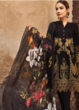 Resham Ghar Embroidered Lawn Unstitched 3 Piece Suit RG19S 06 - Spring / Summer Collection