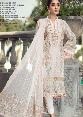 Resham Ghar Embroidered Chiffon Unstitched 3 Piece Suit RG20-C2 02 - Luxury Collection