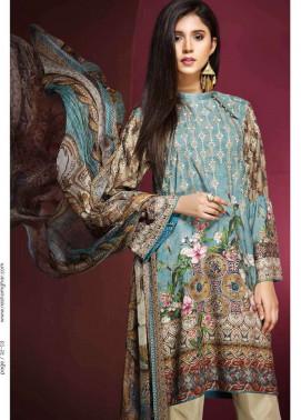 Resham Ghar Embroidered Viscose Unstitched 3 Piece Suit RG17W 08