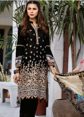 Resham Ghar Embroidered Lawn Unstitched 3 Piece Suit RG18-L2 06 - Festive Collection