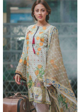 Rang Rasiya Embroidered Lawn Unstitched 3 Piece Suit RGR17C 146B