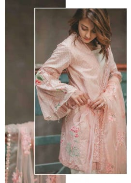 Rang Rasiya Embroidered Lawn Unstitched 3 Piece Suit RGR17C 150A