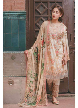 Rang Rasiya Embroidered Lawn Unstitched 3 Piece Suit RGR17C 151A