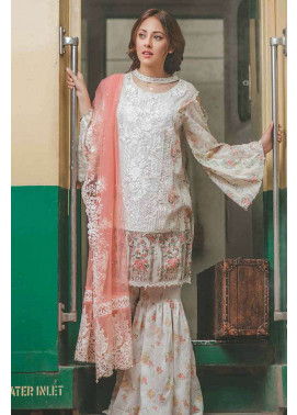 Rang Rasiya Embroidered Lawn Unstitched 3 Piece Suit RGR17C 155B