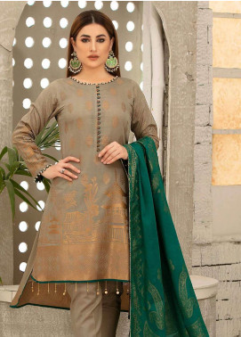 Riaz Arts Printed Banarsi Unstitched 3 Piece Suit RA20B 13 - Summer Collection