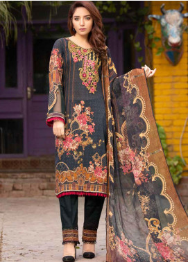 Shamira Embroidered Lawn Unstitched 3 Piece Suit SHR20RL 01 - Spring / Summer Collection