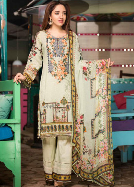 Shamira Embroidered Lawn Unstitched 3 Piece Suit SHR20RL 02 - Spring / Summer Collection