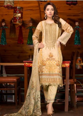 Shamira Embroidered Lawn Unstitched 3 Piece Suit SHR20RL 06 - Spring / Summer Collection