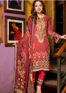 Shamira Embroidered Lawn Unstitched 3 Piece Suit SHR20RL 10 - Spring / Summer Collection