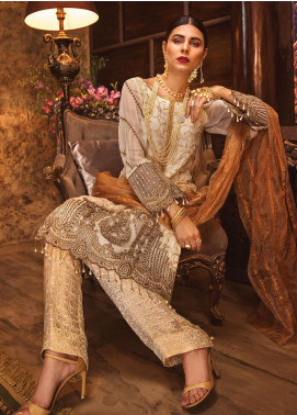 Rivayat by Mohagni Embroidered Chiffon Unstitched 3 Piece Suit RMO19C 05 - Luxury Collection