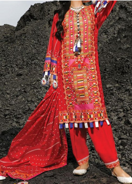 Riwayat-e-Pashk by Gul Ahmed Embroidered Lawn Unstitched 3 Piece Suit RP20GA 974 - Summer Collection