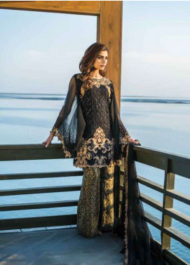 Reemal Khan Embroidered Chiffon Unstitched 3 Piece Suit RK18C 06