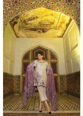 Rungrez Embroidered Silk Unstitched 3 Piece Suit RNG17E2 10