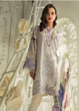 Rouche Embroidered Lawn Unstitched 3 Piece Suit RCH19L 11 VINTAGE GLOW - Festive Collection