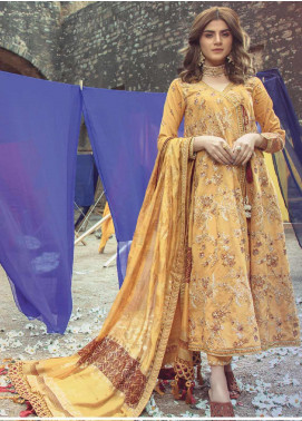Roxanne by Serene Premium Embroidered Lawn Unstitched 3 Piece Suit SP20R 1 - Luxury Collection