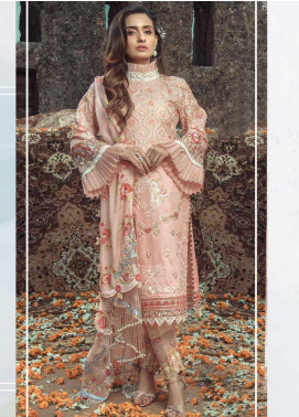Roxanne by Serene Premium Embroidered Lawn Unstitched 3 Piece Suit SP20R 10 - Luxury Collection