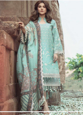 Roxanne by Serene Premium Embroidered Lawn Unstitched 3 Piece Suit SP20R 2 - Luxury Collection