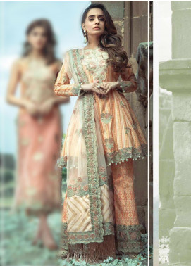 Roxanne by Serene Premium Embroidered Lawn Unstitched 3 Piece Suit SP20R 8 - Luxury Collection