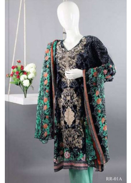 Rangoli Embroidered Lawn Unstitched 3 Piece Suit RRS17L 1A