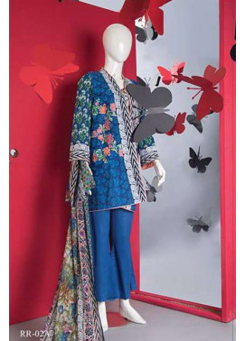 Rangoli Embroidered Lawn Unstitched 3 Piece Suit RRS17L 2A