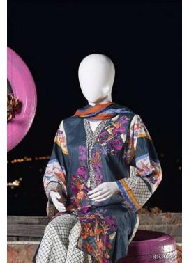 Rangoli Embroidered Lawn Unstitched 3 Piece Suit RRS17L 5A