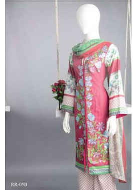 Rangoli Embroidered Lawn Unstitched 3 Piece Suit RRS17L 5B